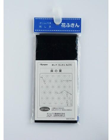 Asanoha bleu foncé N°206