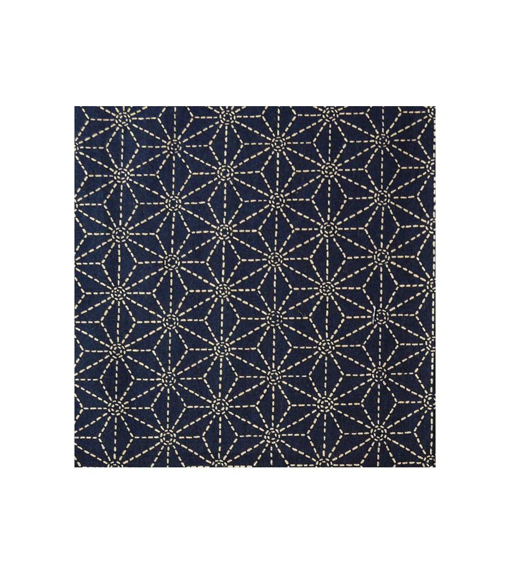 Tissu imprimé 33 (50 x 54 cm) Sashiko ya