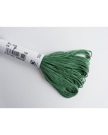 Fil sashiko N° 7 vert