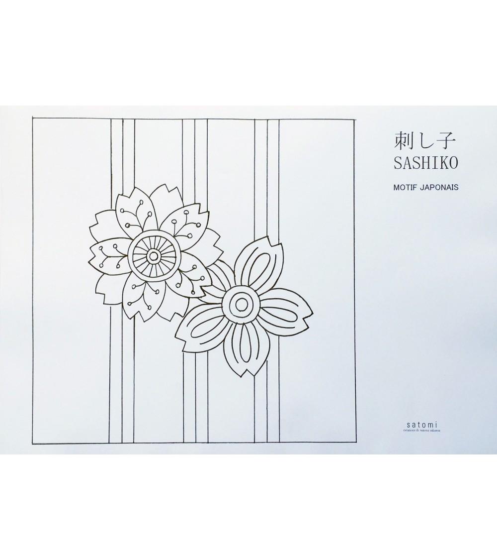 Motif sakura toshima