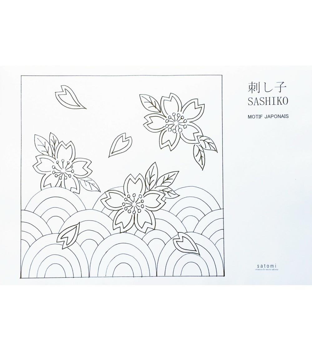 Motif Namito-Sakura