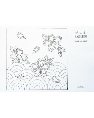 Motif Vagues et Sakura