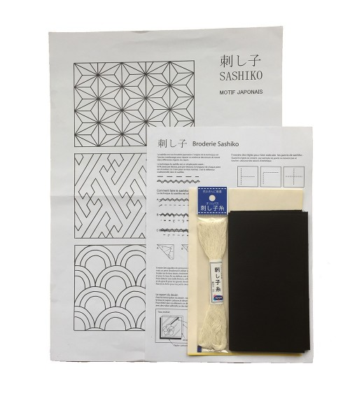 Kit 3 motifs japonais traditionnel