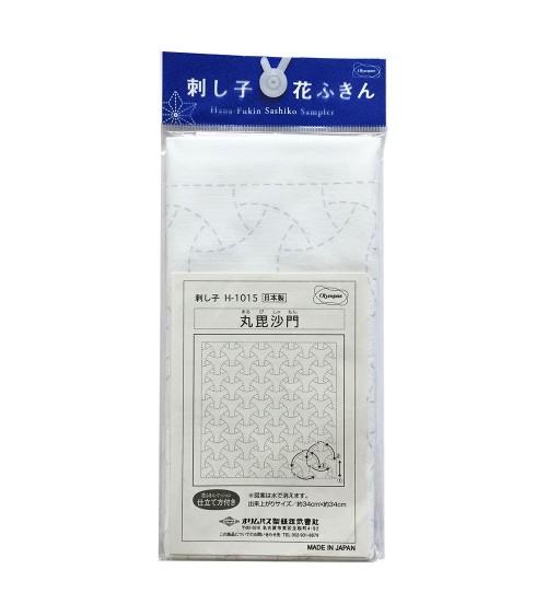Marubishamon blanc N° H-1014