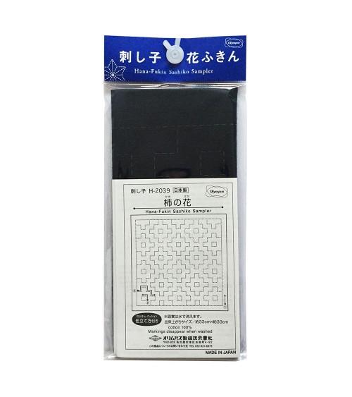 Kaki no hana bleu foncé  N° H-2039
