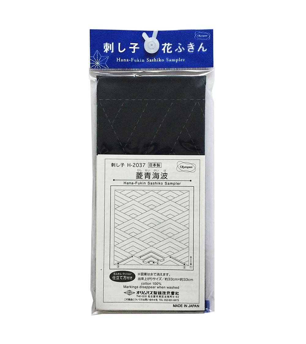 Hishiseigaiha blue foncé  N° H-2037