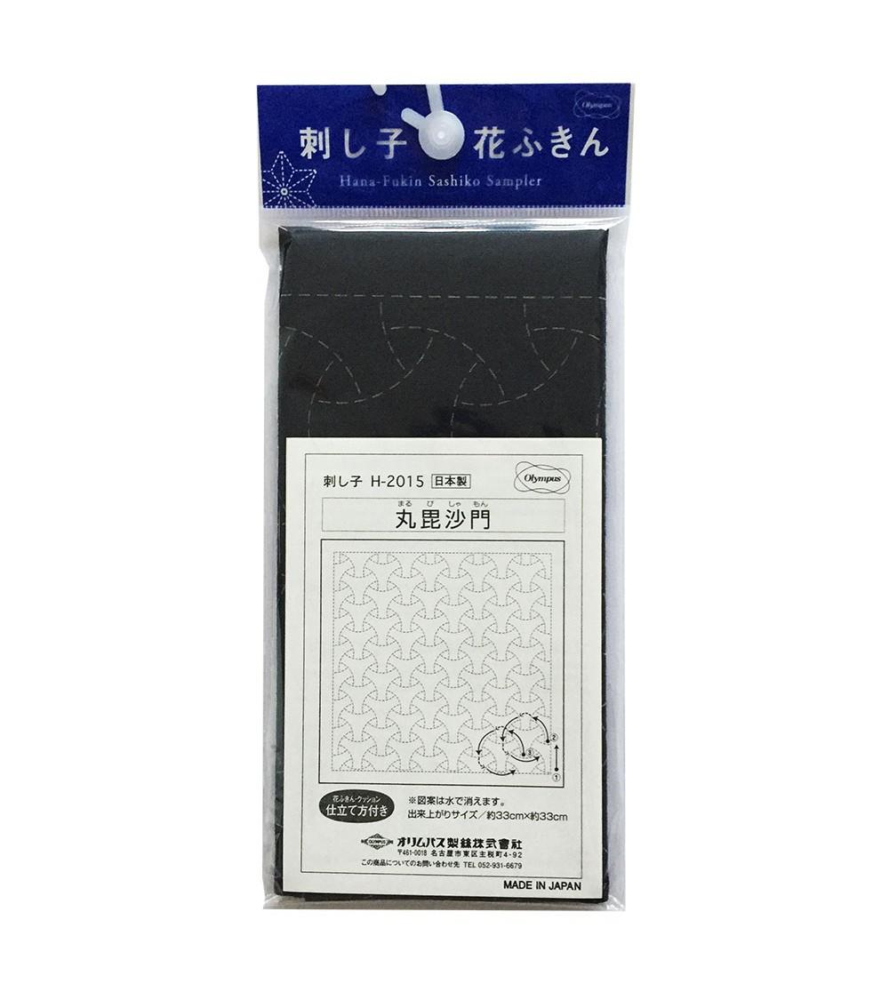 Marubishamon bleu foncé  N° H-2015