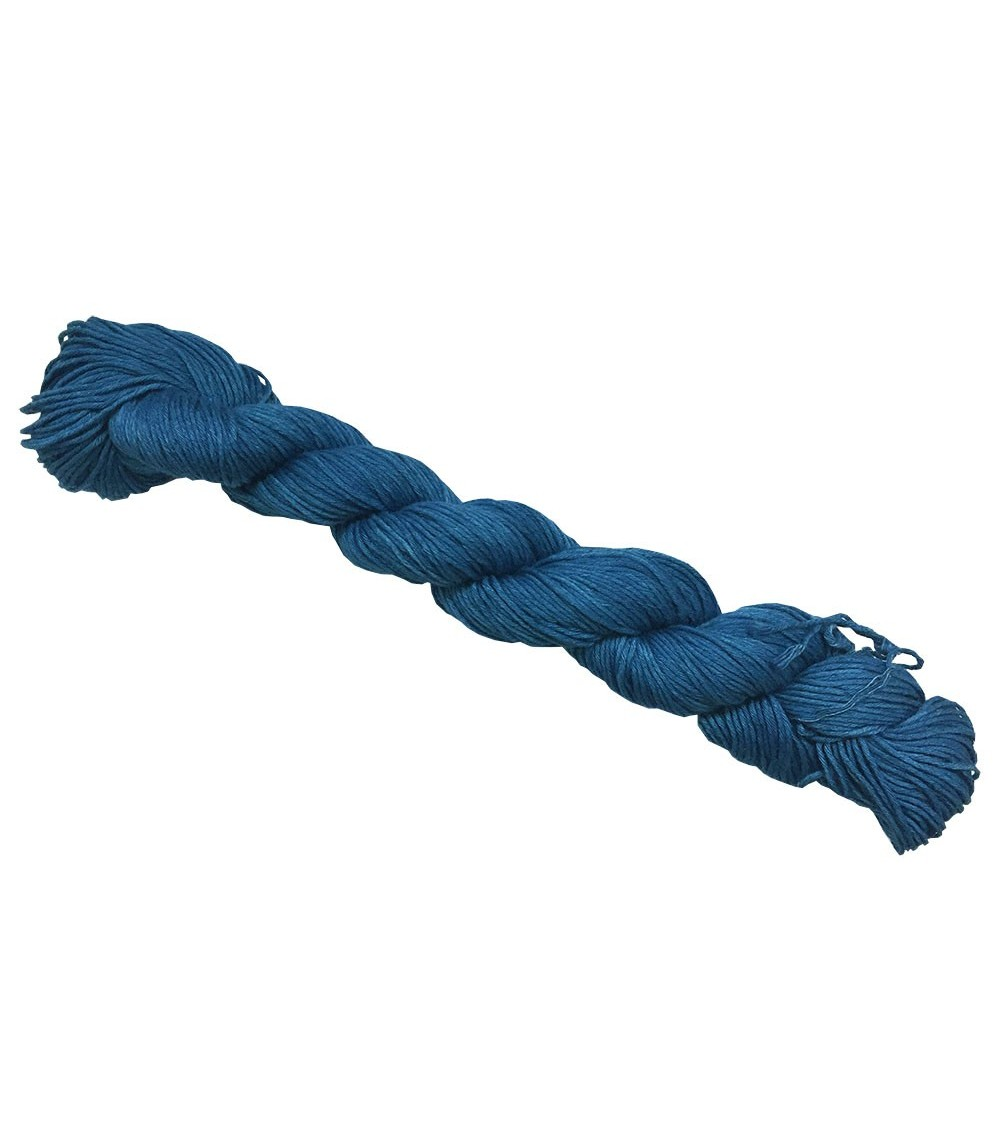 Fil sashiko véritable indigo Asagi bleu
