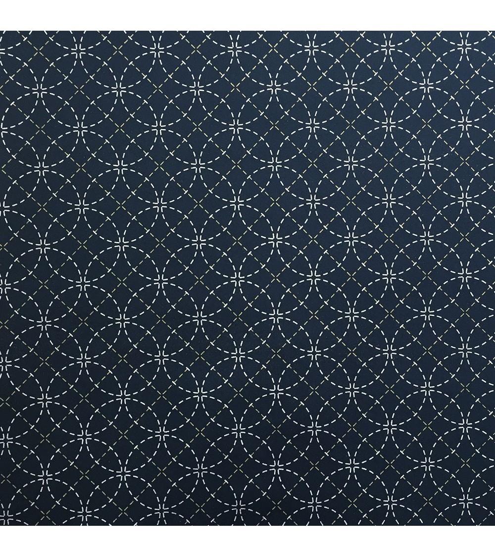 Tissu pré-imprimé Shippo 50x110 cm
