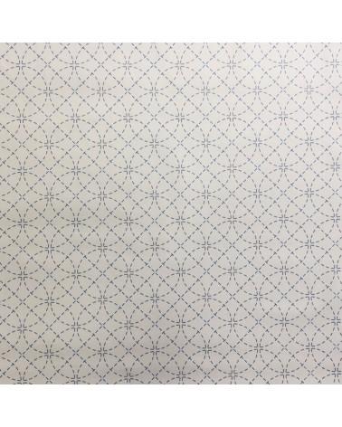 Tissu pré-imprimé écru Shippo 50x110 cm